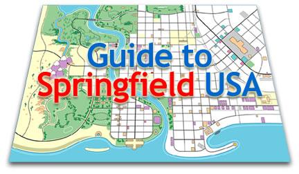 Springfield Usa Map.Springfield